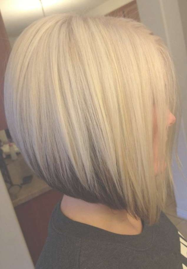 Bob Hairstyles With Blonde Hair Color Bob Hairstyles With Blonde Regarding Bob Haircuts And Colors (View 11 of 15)