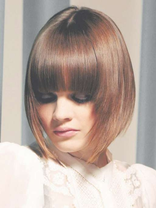 Bob Hairstyles With Fringe – Hairstyle Fo? Women & Man With Regard To Bob Hairstyles With Fringes (View 6 of 15)