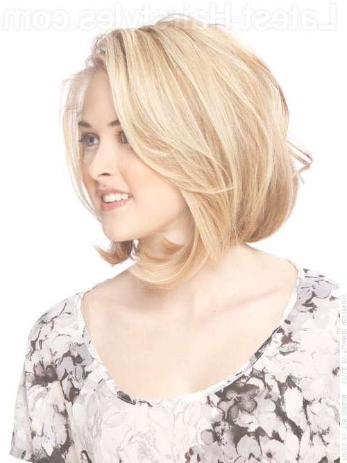 Bob Styles For Round Faces | Short Hairstyles 2016 – 2017 | Most Inside Layered Bob Haircuts For Round Faces (View 3 of 15)