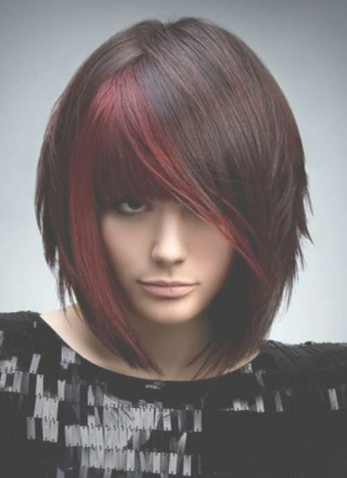 Featured Photo of Bob Haircuts With Red Highlights