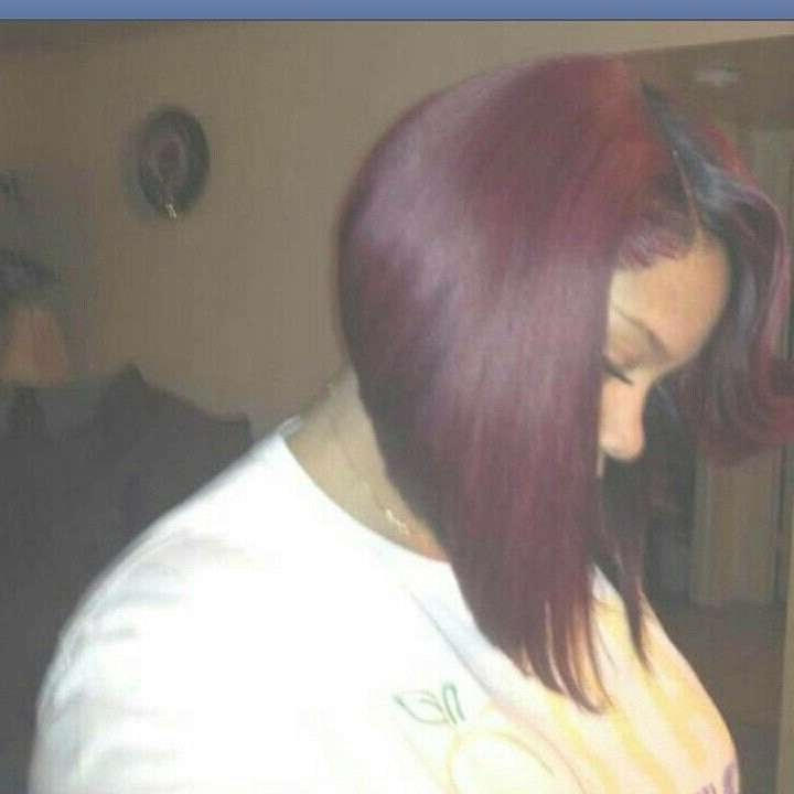 Burgundy Bob – Hairstyle Fo? Women & Man Pertaining To Burgundy Bob Hairstyles (View 12 of 15)