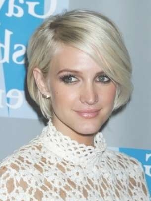 Celebrity Short Hair Styles For Women 2012 Intended For Ashlee Simpson Bob Haircuts (View 15 of 15)