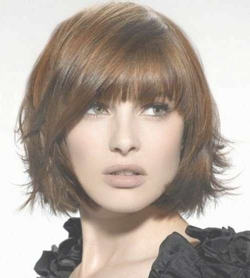 Choppy Bob Hairstyles For Thick Hair | Bob Hairstyles 2017 – Short Intended For Bob Haircuts With Bangs For Thick Hair (View 2 of 15)