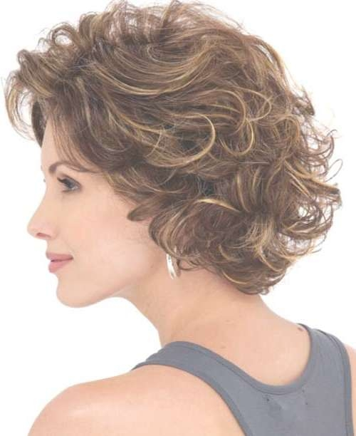 Cool Layered Curly Hairstyles   Haircuts, Hairstyles 2017 And Hair Pertaining To Layered Curly Bob Haircuts (View 8 of 15)