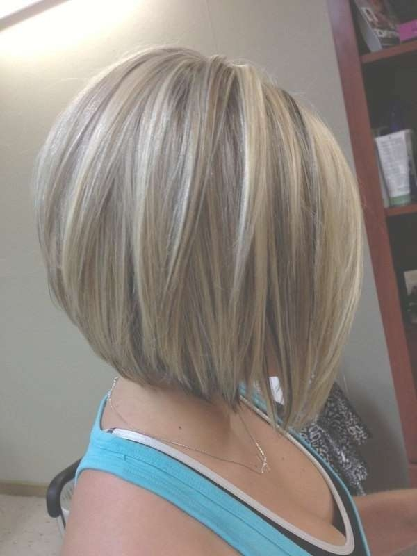 Cute A Line Bob Hairstyle For Women – Popular Haircuts Inside Medium Swing Bob Hairstyles (View 12 of 15)