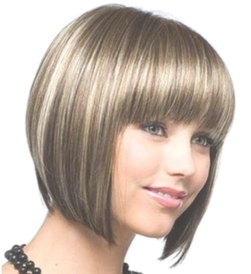 Cute Bob Hairstyles For A Round Face – Latest Hair Styles – Cute With Regard To Cute Bob Haircuts For Round Faces (View 11 of 15)