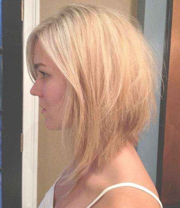 Cute Bob Hairstyles For Round Faces 2015 Pertaining To Medium Bob Hairstyles For Round Faces (View 13 of 15)