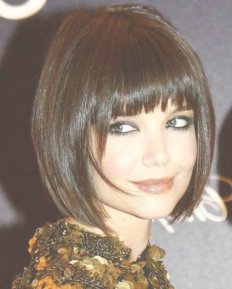 Cute Bob Hairstyles With Bangs | Aelida With Cute Bob Hairstyles With Bangs (View 2 of 15)