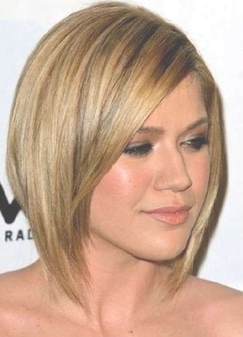 Cute Haircuts For Thin Hair And Round Face | Cute Hairstyle Inside Cute Bob Haircuts For Round Faces (View 14 of 15)