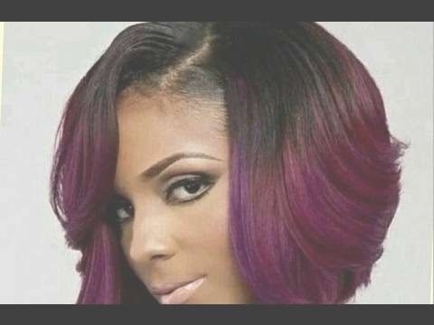Cute Short Bob Haircuts For Black Women – Youtube With Bob Haircuts On Black Women (View 15 of 15)