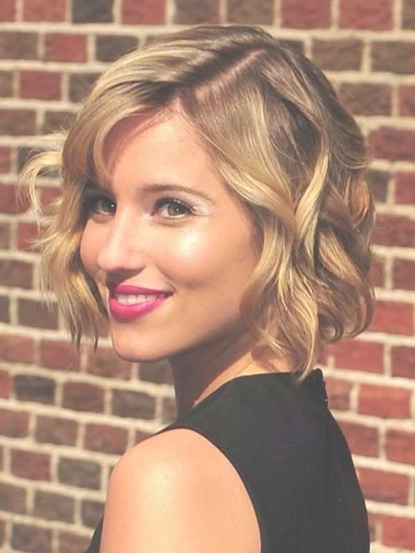 Cute Short Soft Wavy Hairstyle For Women – Really Cute Throughout Cute Curly Bob Haircuts (View 3 of 15)