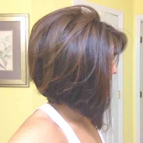 Daily Hairstyles For Short Hair: Concave Bob With Subtle Regarding Bob Hairstyles With Highlights (View 3 of 15)