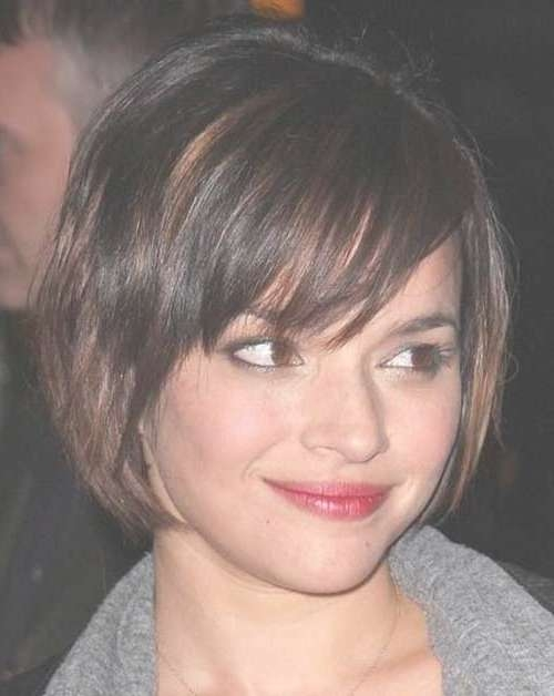 Eye Catching Bob Haircuts For Round Faces | Short Hairstyles Pertaining To Short Bob Haircuts For Round Faces (View 6 of 15)
