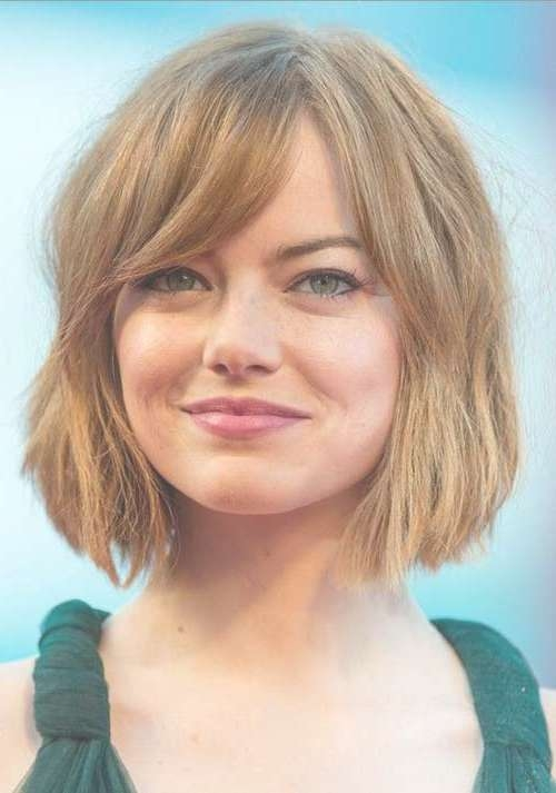 Eye Catching Bob Haircuts For Round Faces | Short Hairstyles Within Bob Haircuts On Round Face (View 3 of 15)