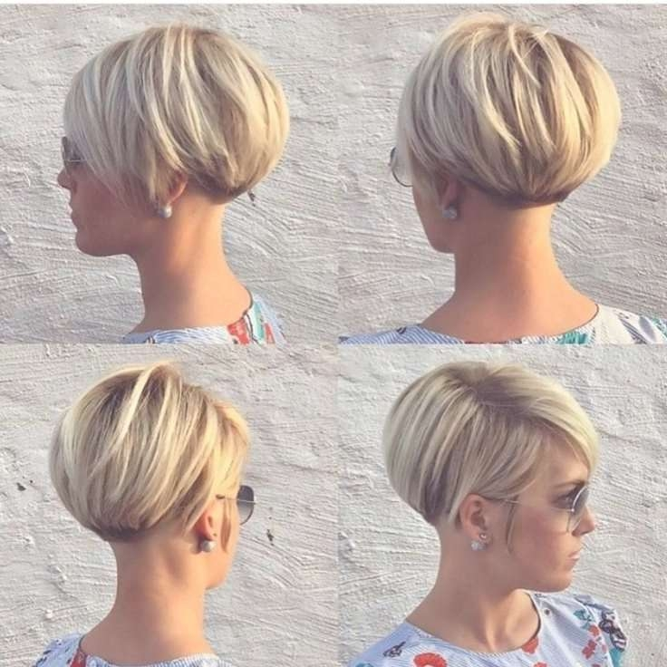 Showing Photos Of Short Pixie Bob Hairstyles View 5 Of 15 Photos