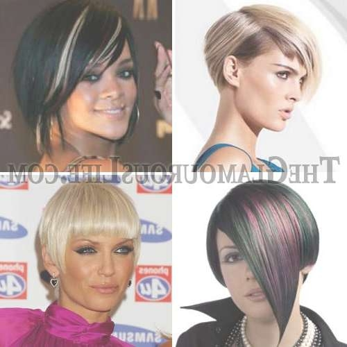 Funky Short Bob Hairstyles With Funky Short Bob Hairstyles (View 3 of 15)