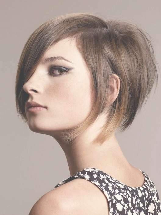Funky Stacked Bob Haircut – Trendy Short Hairstyles For 2014 Regarding Funky Short Bob Hairstyles (View 7 of 15)