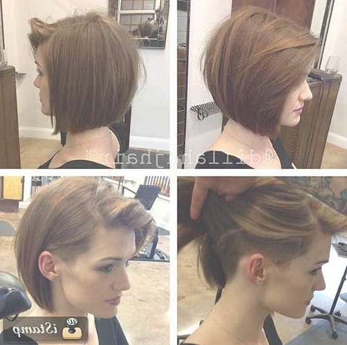 Girls Bob Hairstyles | Hair | Pinterest | Bob Hairstyle, Bobs And With Regard To Bob Haircuts With Undercut (View 6 of 15)