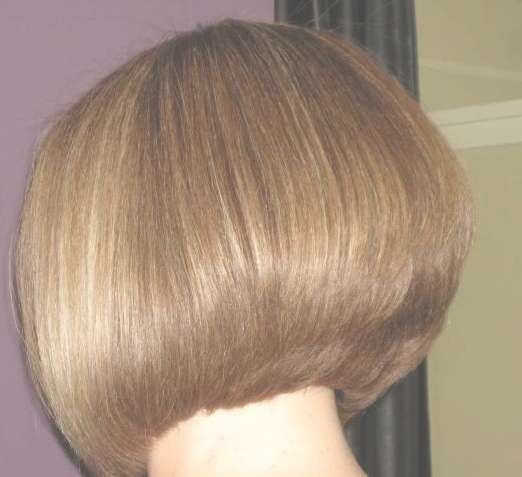 Graduated Bob Back View – Hairstyles Weekly Within Back View Of Bob Haircuts (View 14 of 15)