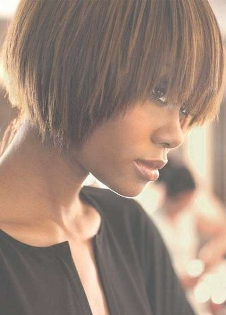 Groovy Short Bob Hairstyles For Black Women | Styles Weekly Within Cute Bob Hairstyles For Black Women (View 14 of 15)