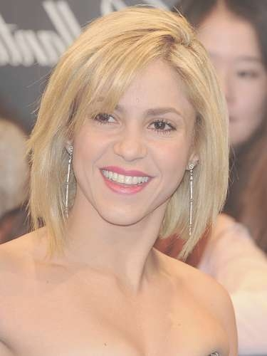 Explore Gallery Of Shakira Bob Haircuts Showing 11 Of 15 Photos