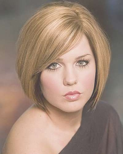 Haircuts For Round Face – Best Haircut Style In Medium Bob Hairstyles For Round Faces (View 4 of 15)