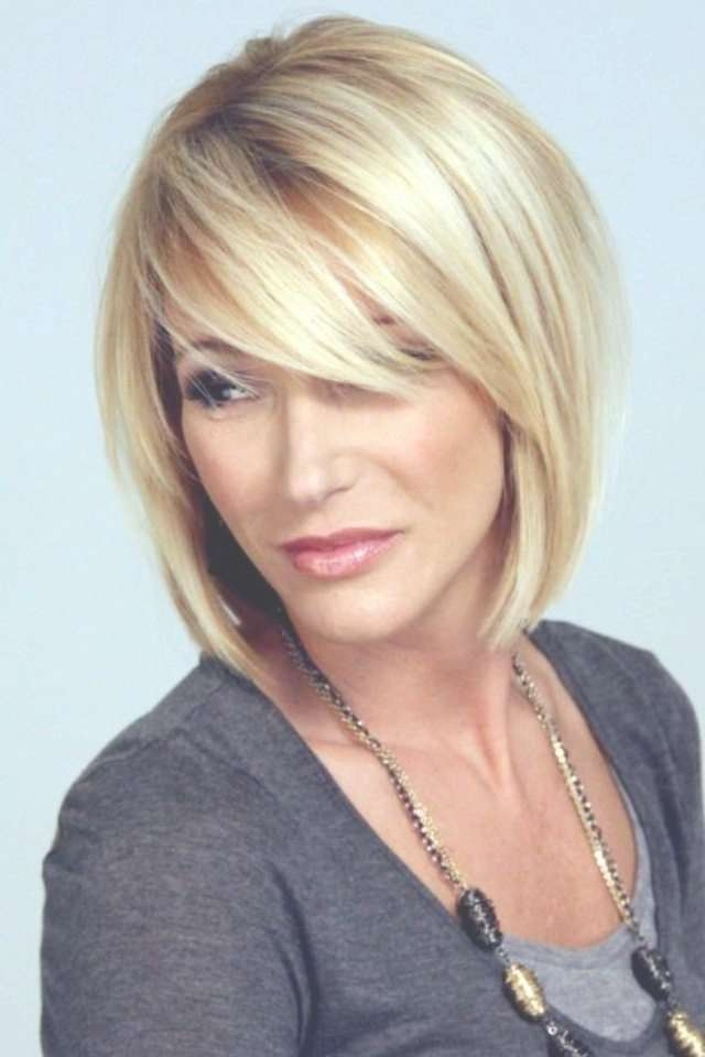 Haircuts Trends 2017/ 2018 – Long, Side Swept Bangs With Beautiful Regarding Bob Haircuts With Side Bangs (View 6 of 15)