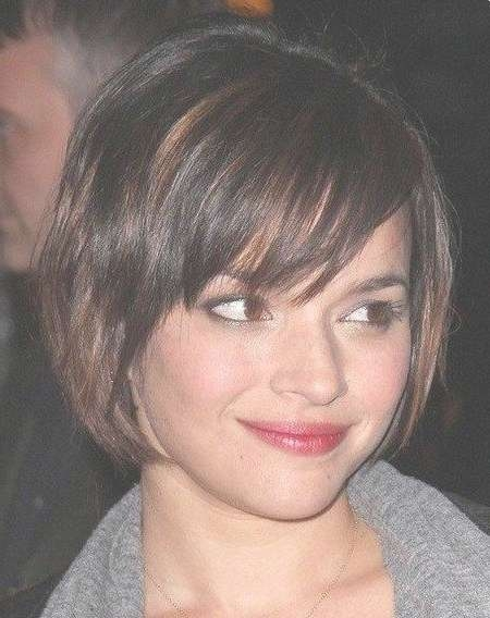 Hairstyle 2013: Short Bob Hairstyles Part 7 Pertaining To Bob Haircuts For Fine Hair And Round Faces (View 3 of 15)