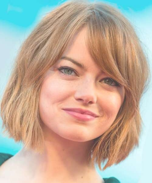Hairstyles For Bobs: Thick Hair And Fine Hair (View 2 of 15)