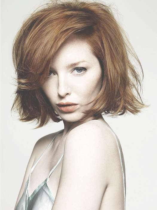 Hairstyles For Long Faces Pertaining To Layered Bob Haircuts For Long Faces (View 13 of 15)