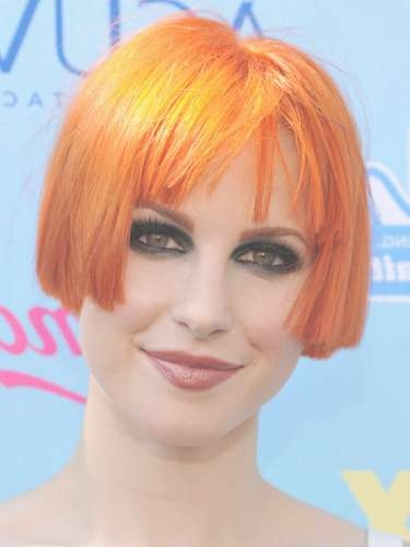 Hayley Williams Debuts Super Short Hair :: See Her Hair Cut At The Regarding Hayley Williams Bob Haircuts (View 4 of 15)