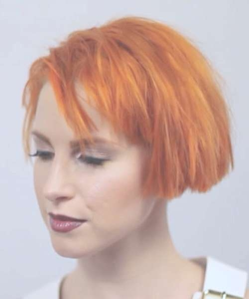 Hayley Williams Hairstyles & Hair Colors | Steal Her Style | Page 3 With Hayley Williams Bob Haircuts (View 9 of 15)