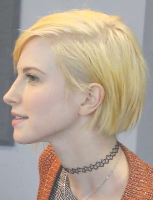 Hayley Williams Hairstyles & Hair Colors | Steal Her Style | Page 6 With Regard To Hayley Williams Bob Haircuts (View 12 of 15)