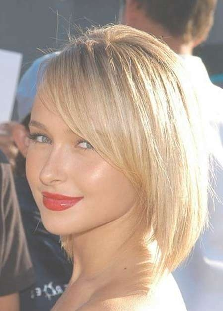 Inverted Bob Haircuts 2013 2014 | Short Hairstyles 2016 – 2017 Pertaining To Cute Bob Haircuts With Side Bangs (View 15 of 15)