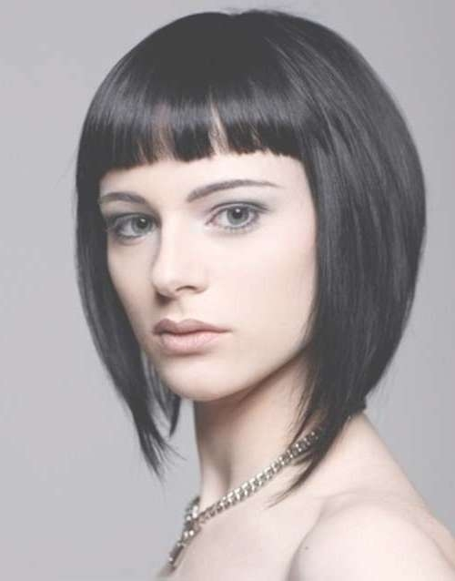 Inverted Bob Haircuts To Try: 15 Sizzling Hot New Inverted Bobs With Chinese Bob Haircuts Styles (View 14 of 15)