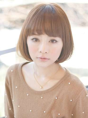 Japanese Bob Hairstyle For Girls - Hairstyles Weekly throughout Japanese Bob Haircuts