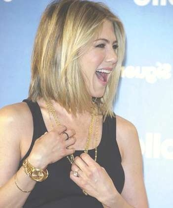 Jennifer Aniston Cuts Inches Off Her Long Hair with regard to Rachel Green Bob Hairstyles