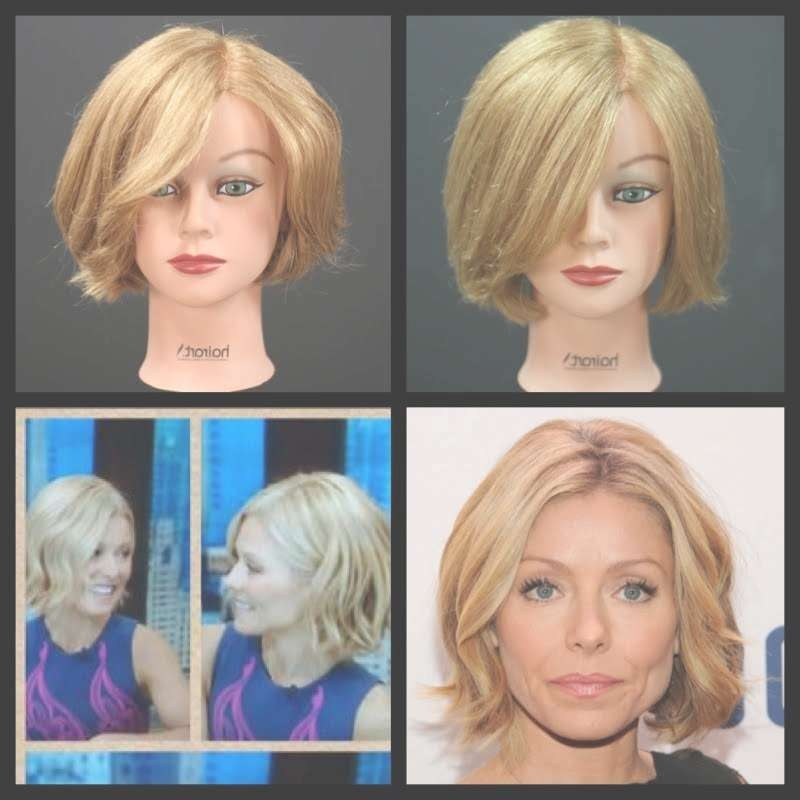 Kelly Ripa New Bob Haircut Tutorial | Thesalonguy – Youtube Intended For Kelly Ripa Bob Hairstyles (View 5 of 15)