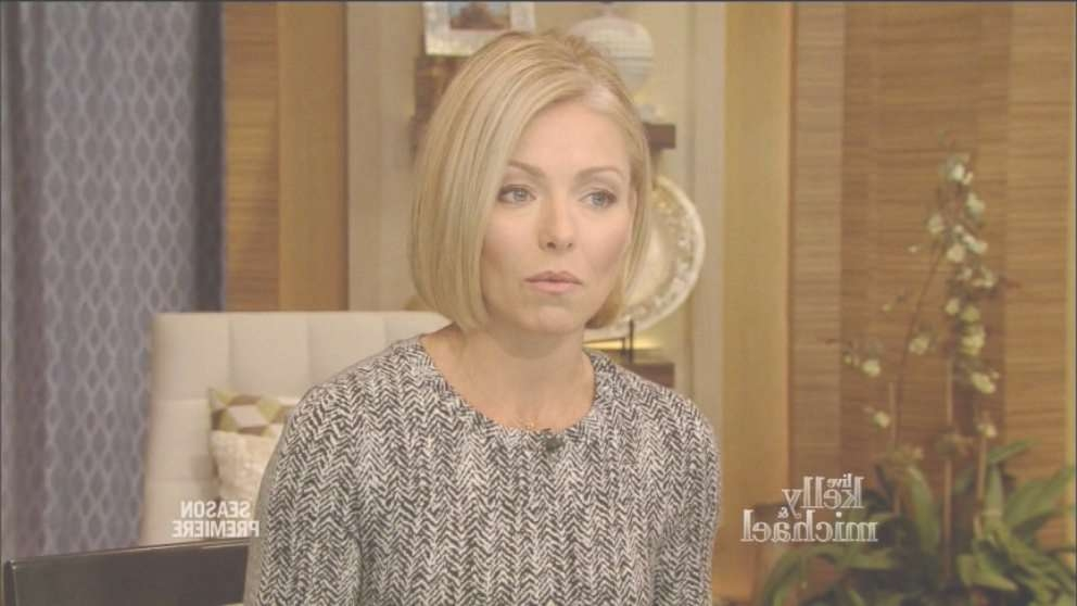Kelly Ripa On Neil Patrick Harris's Italian Wedding Video – Abc News Regarding Kelly Ripa Bob Hairstyles (View 12 of 15)