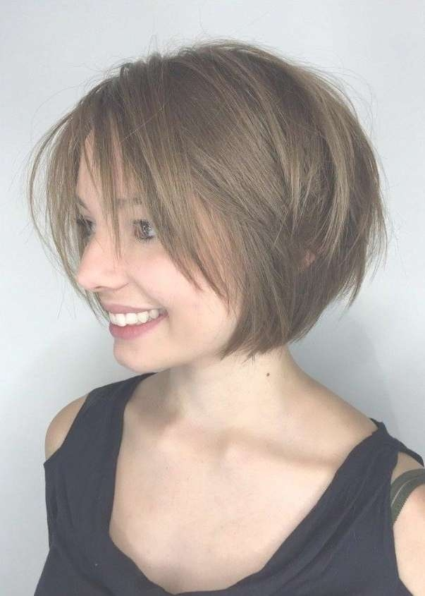 Layered Bob Hairstyles 2017: From Bangs To Choppy Styles, We've With Layered Bob Hairstyles With Bangs (View 5 of 15)