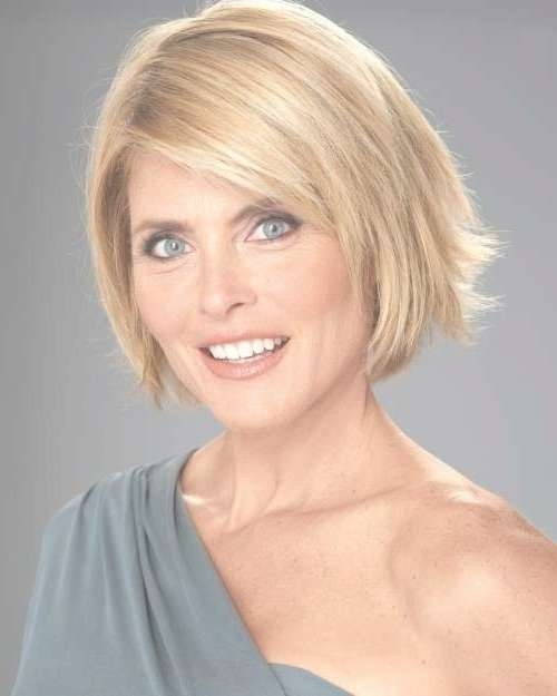 Layered Bob Hairstyles For Over 50 | Bob Hairstyles 2017 – Short Pertaining To Bob Haircuts For Over (View 2 of 15)