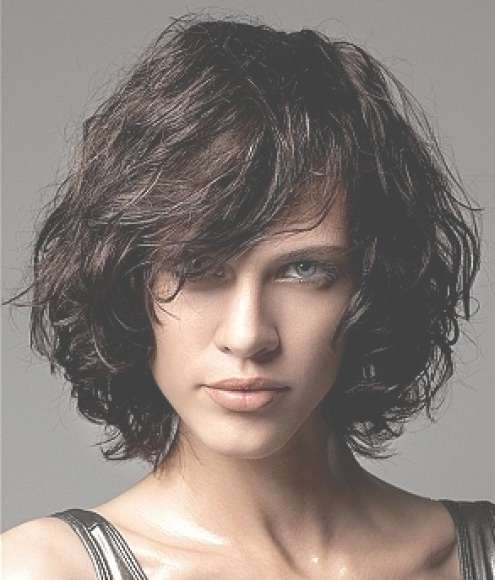 Layered Curly Bob Hairstyle – Hairstyles Weekly Regarding Layered Curly Bob Haircuts (View 4 of 15)