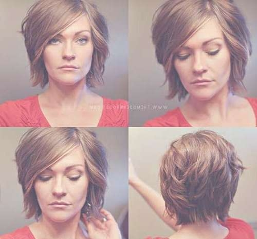Layered Hair Cut Sassy Styles With Fine Bob Hairstyle Also Side With Bob Haircuts Back And Front View (View 10 of 15)