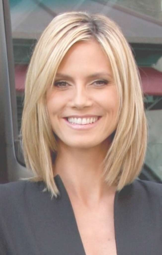 Long Bob Haircuts For Oval Faces Simple Long Hairstyles With Short For Long Bob Haircuts For Long Faces (View 8 of 15)