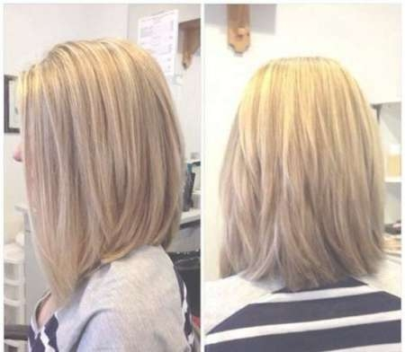 Photo Gallery Of Back View Layered Bob Haircuts Showing 12 Of 15