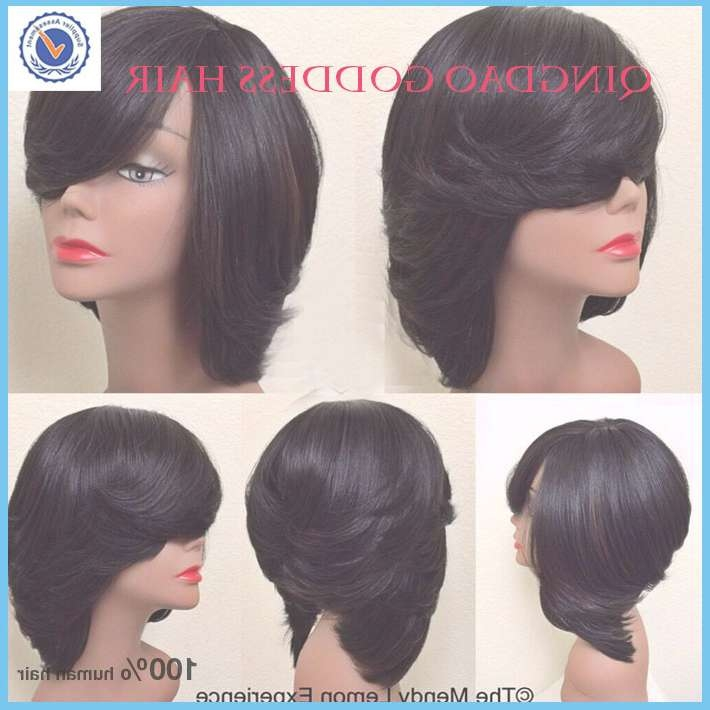 Showing Photos Of Layered Bob Haircuts For Black Women View 5 Of 15