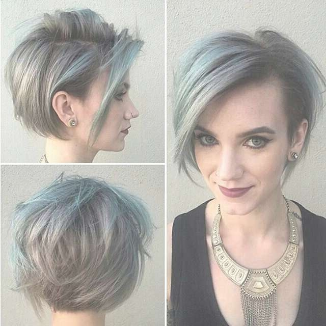 Long Pixie + Shaved Side | Long Pixie ??? | Pinterest | Long Regarding Long Pixie Bob Haircuts (View 13 of 15)