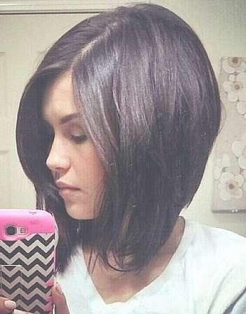 Medium Bob Haircuts With Side Bangs Hairstyles Stock Photos Hd With Medium Bob Haircuts With Side Bangs (View 12 of 15)
