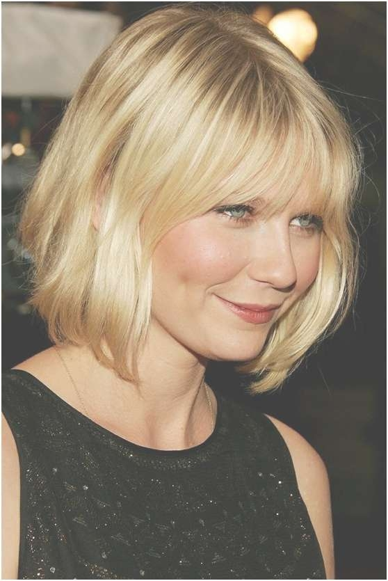 Medium Length Bob Hairstyle: Short Haircuts For Round Face Throughout Medium Length Bob Haircuts For Round Faces (View 7 of 15)