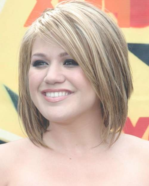 Featured Photo of Medium Length Bob Haircuts For Round Faces